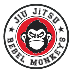 "Rebel Monkeys ""JIU JITSU"" T-Shirt White - Rebel Monkeys"