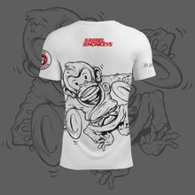"Rebel Monkeys ""JIU-JITSU TIME"" by Gartista - Kids Performance T-Shirt PRE-ORDER - Rebel Monkeys"