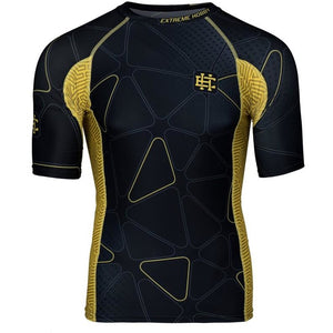 "Extreme Hobby TM ""Network"" Short Sleeve Rash Guard - Rebel Monkeys"