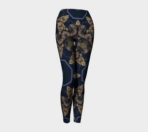 Dark Buds Leggings