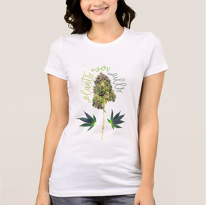 Women Plants Over Pills Tee