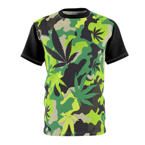 Men's Green Camo Premium T-shirt