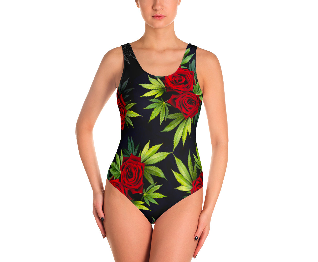 Swimsuit - Canna Rose