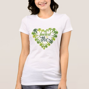 Women Fueled by THC Tee