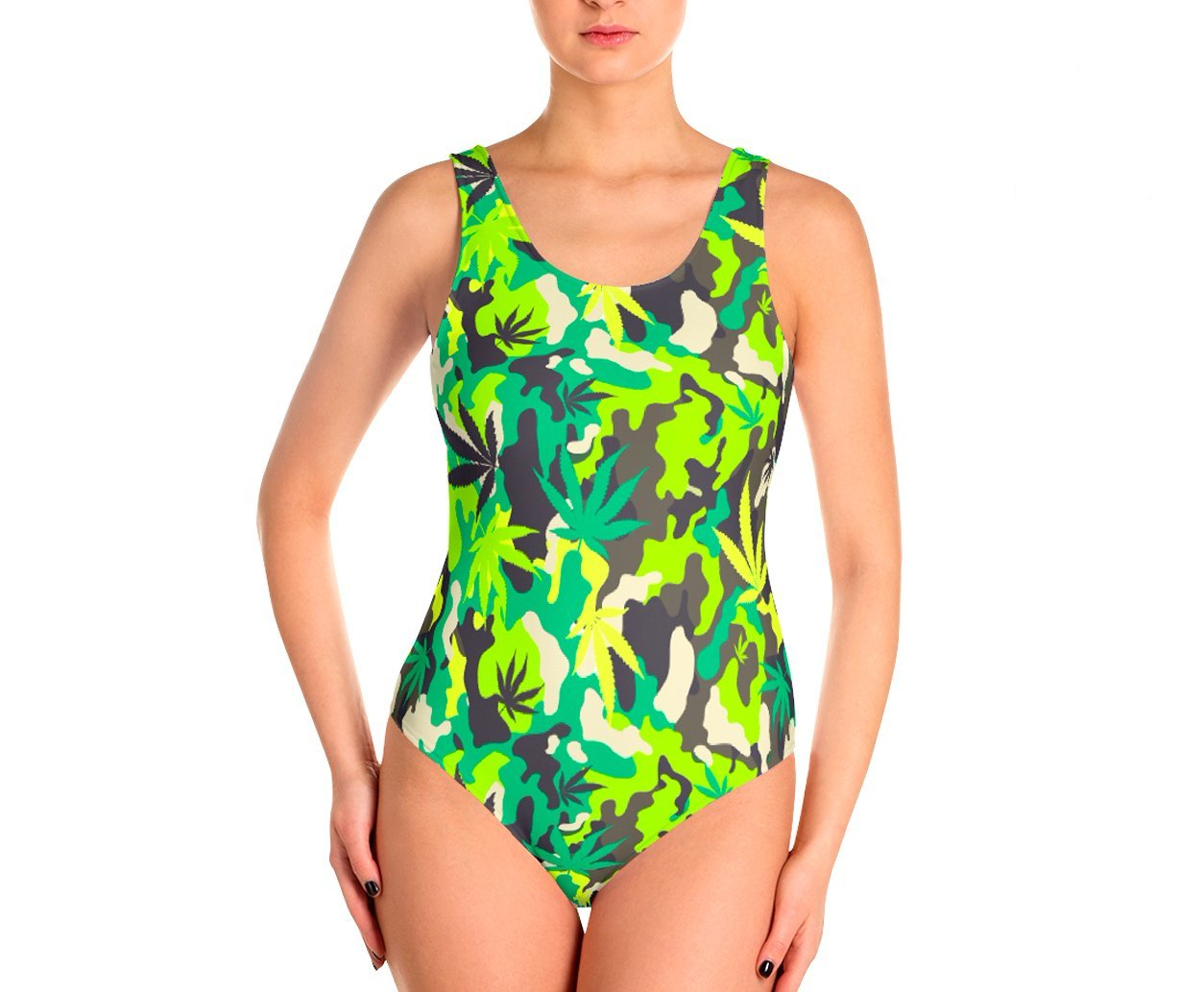 Swimsuit - Green Camo