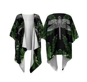 Leaf and Dragon Kimono Cardigan