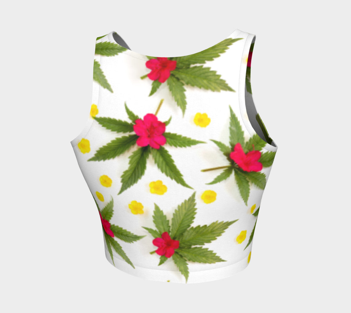 Spring Canna Flowers Top