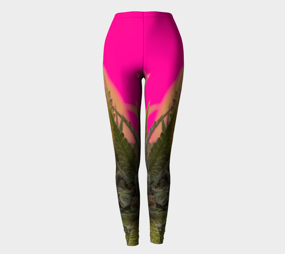 Pink Puff  Leggings