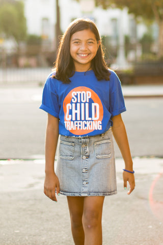 Stop Child Trafficking Tee
