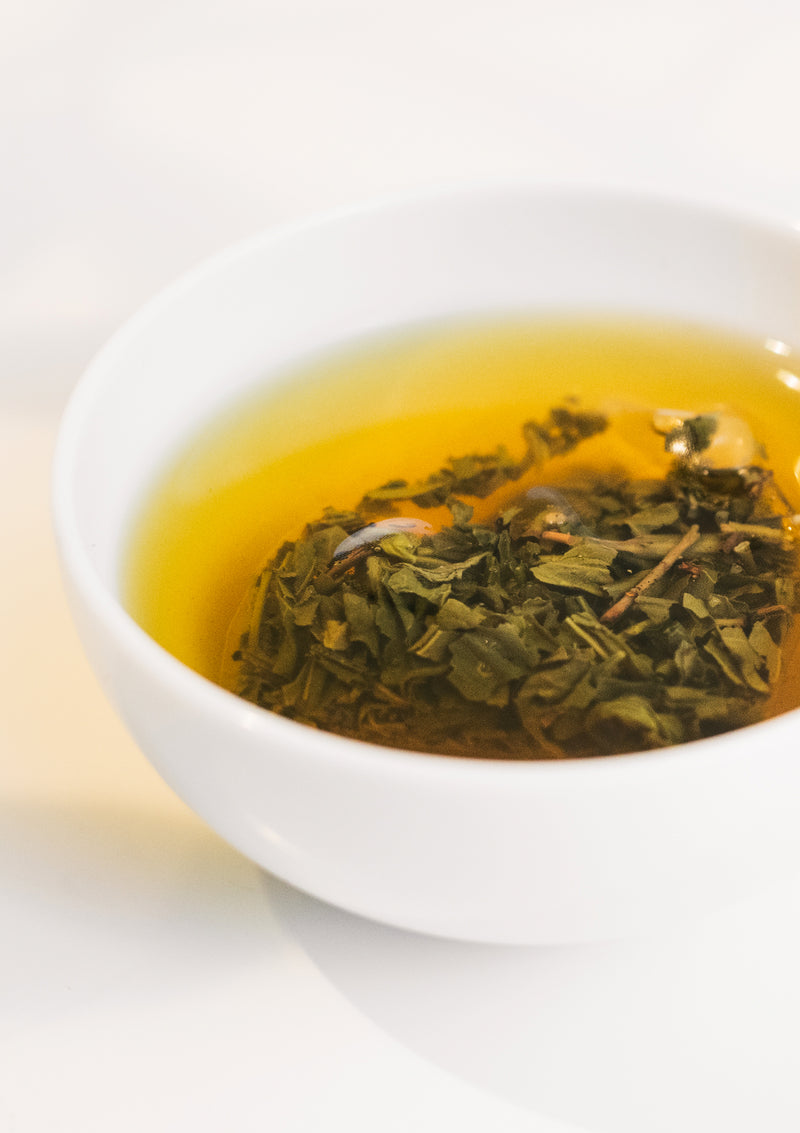 photo of Organic Jasmine Green Teabag in cup