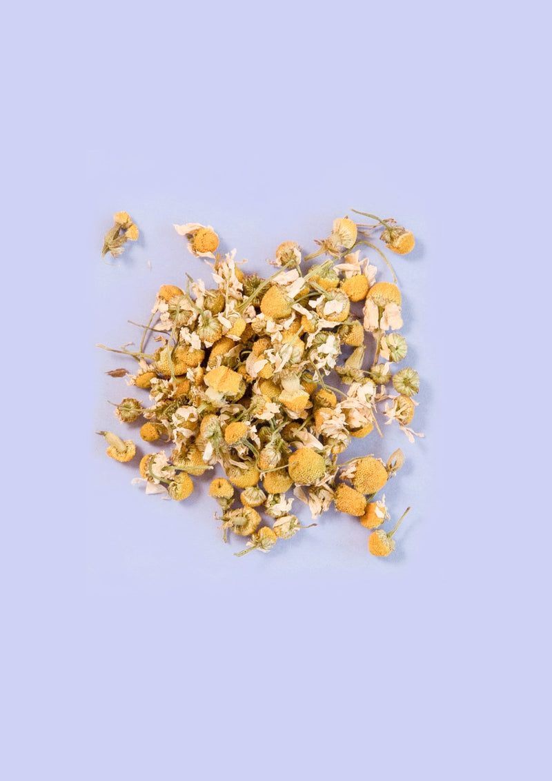 photo of loose leaf organic chamomile