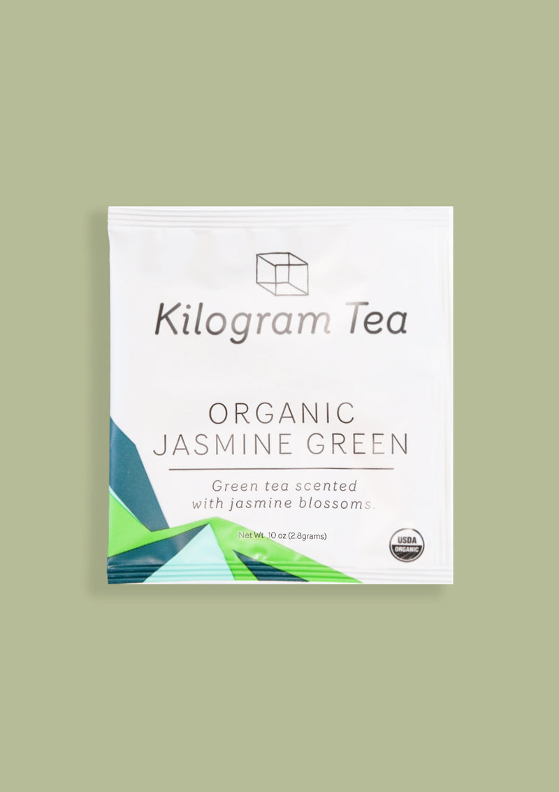 photo of Organic Jasmine Green Teabag