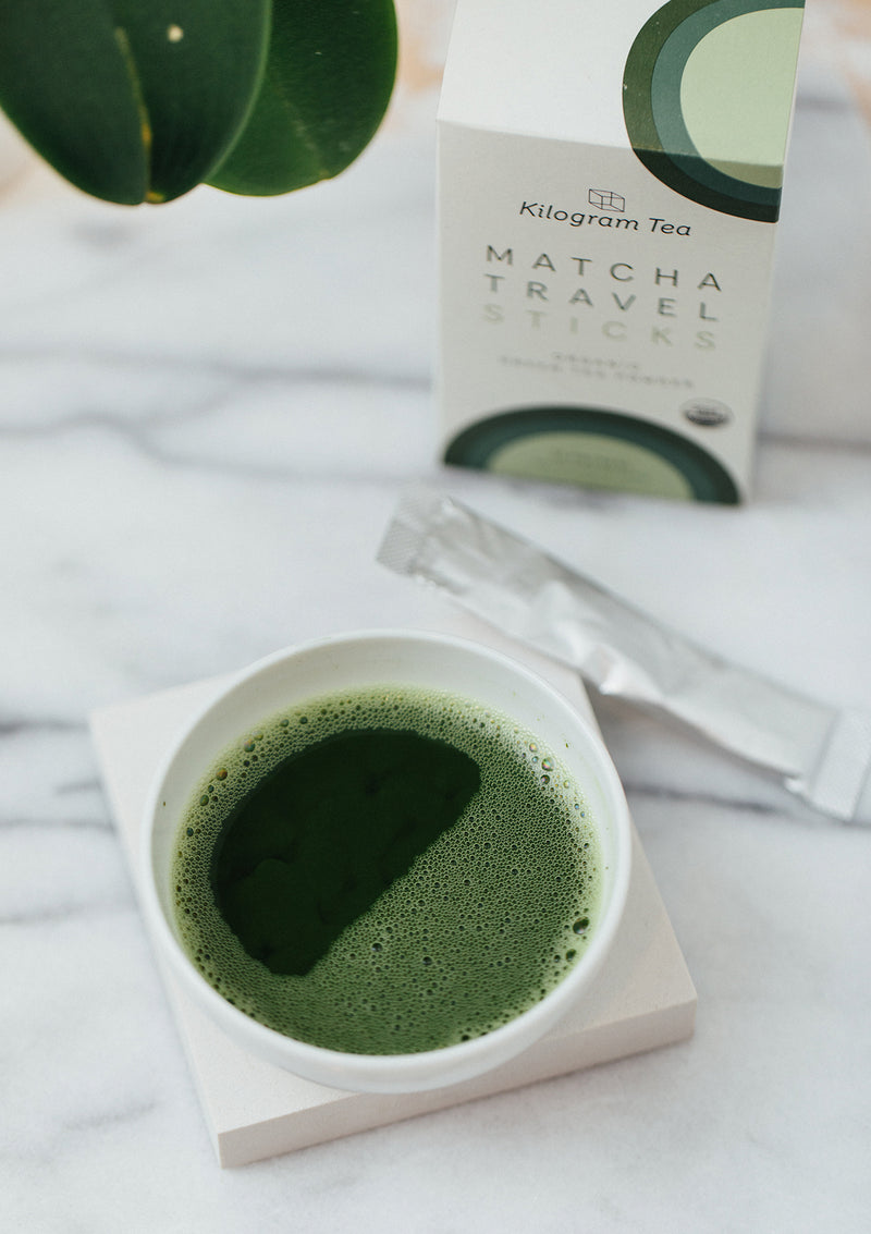 Organic Matcha Travel Sticks