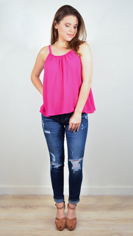 Funny Pink Top