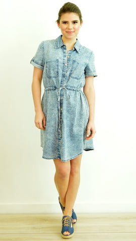 Jean Shirtdress