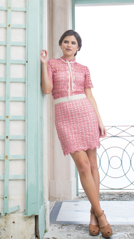 Le Vie en Rose Dress