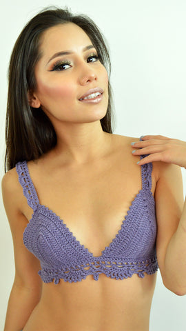Lilac Giuliana Crop Top