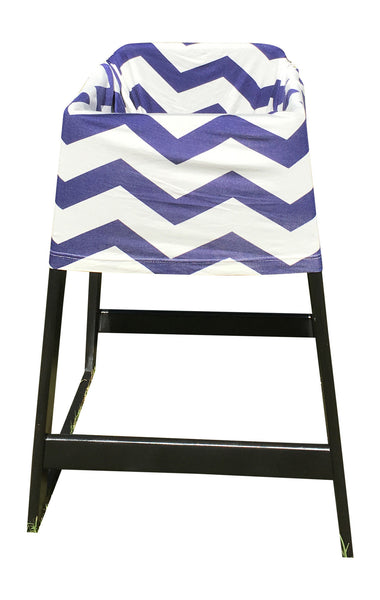 Free Monogramming Blue Chevron Infant Car Seat Cover