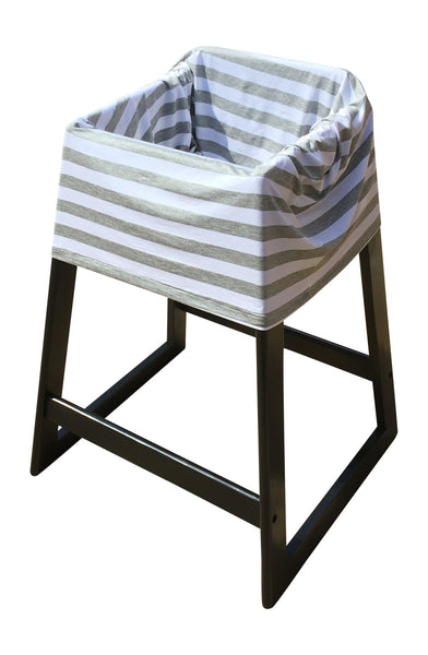 Gray Stripe Infant Car Seat Cover