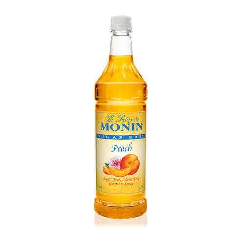 Monin Sugar Free Peach Syrup