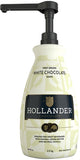 Hollander Chocolate Sweet Ground White Chocolate Sauce