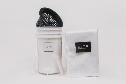 Alto Cold Brew Filters & Bucket