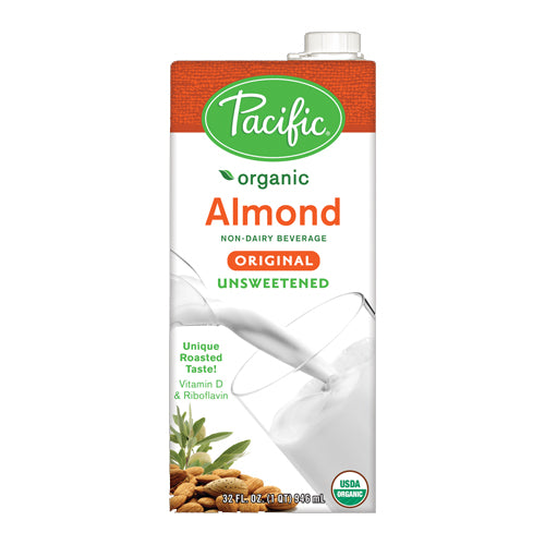 Pacific Foods Almond Unsweetened Milk