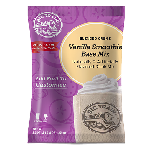 Big Train Vanilla Smoothie Powder Mix