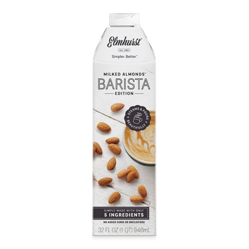 Elmhurst Barista Edition Almond Milk
