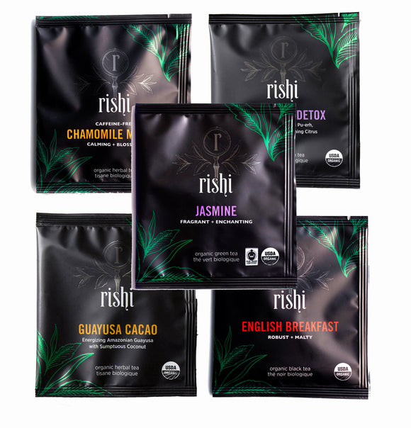 Rishi Tea Biodegradable Sachets