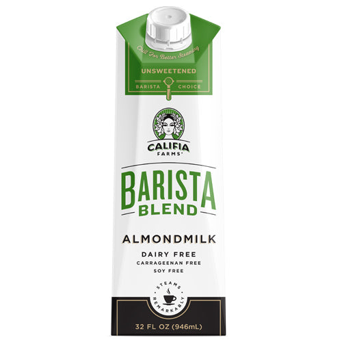 Califia farms barista series almond milk unsweetened