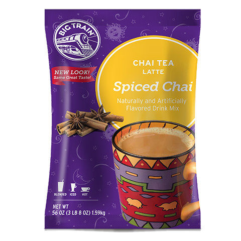 Big Train Chai Tea Spiced Chai Latte Powder Mix