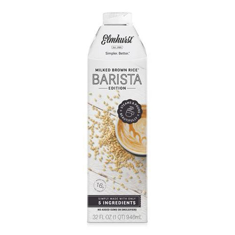 Elmhurst Barista Edition Brown Rice Milk