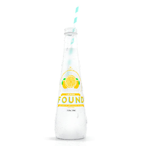Found Lemon Sparkling Water