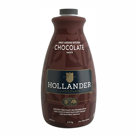 Hollander Chocolate Sweet Ground Dutched Chocolate Sauce