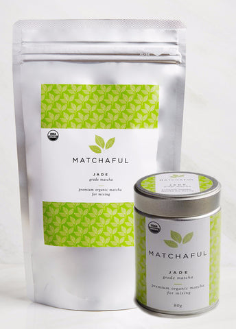 MatchaFul Jade Grade Matcha Powder