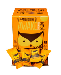 Awake Chocolate Bites - Peanut Butter