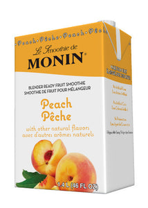 Monin Peach Smoothie