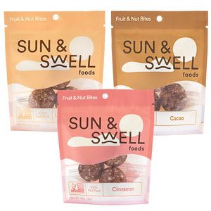 Sun & Swell Fruit & Nut Bites