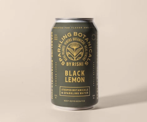 Rishi Sparkling Botanicals - BLACK LEMON
