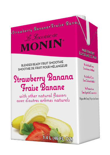 Monin Strawberry/Banana Smoothie