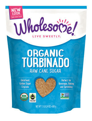 Wholesome Sweeteners Organic Raw Turbinado