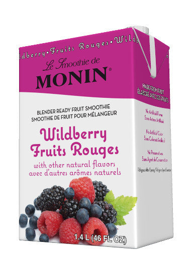 Monin Wildberry Smoothie