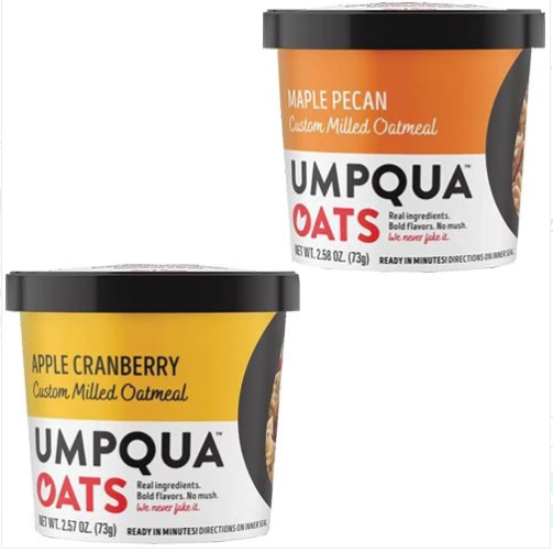 Umpqua Oats Apple Cranberry & Maple Pecan Variety Pack