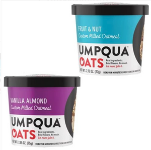 Umpqua Oats Fruit And Nut & Vanilla Almond Variety Pack