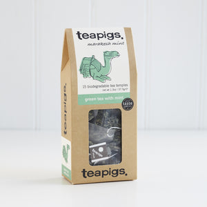 TeaPigs Green Tea With Mint 15ct