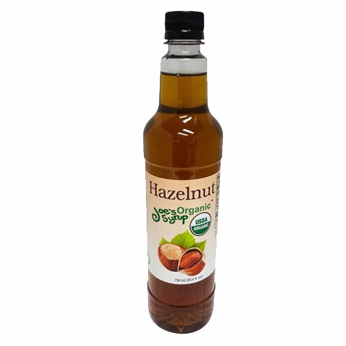 Joe's USDA Organic Syrup - Hazelnut