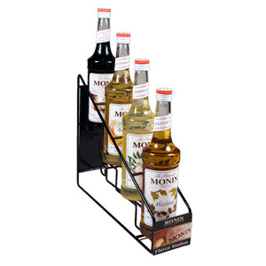 Monin 4 count syrup rack