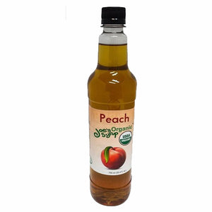 Joe's USDA Organic - Peach Syrup