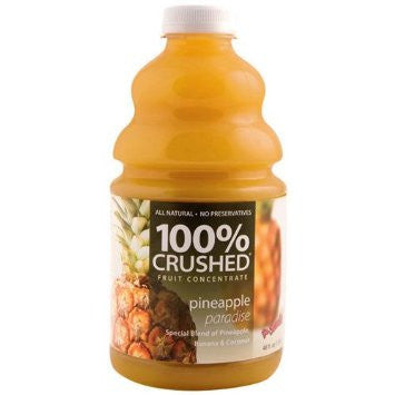 DR. SMOOTHIE Pineapple Paradise 100% CRUSHED FRUIT SMOOTHIE CONCENTRATE